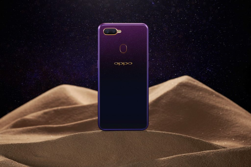 New OPPO F9 Starry Purple Edition To Be Launched 24