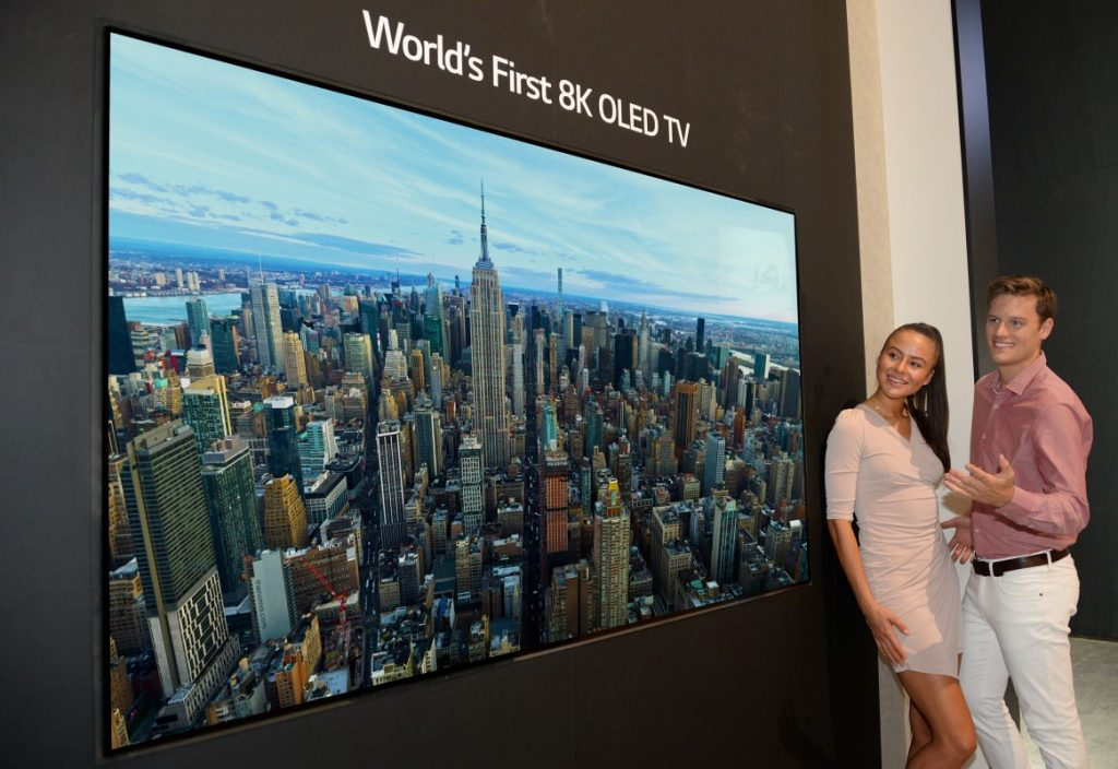 LG 8K OLED TV With Google Assistant Unveiled 20