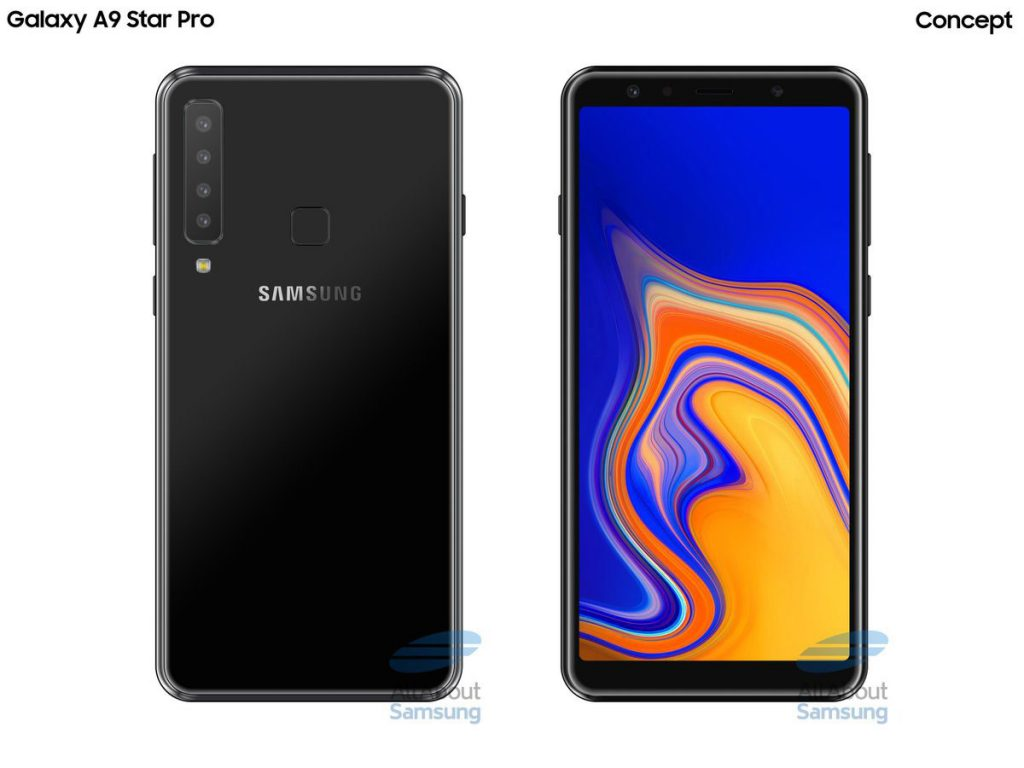 Samsung Galaxy A9 Star Pro to be first quad-rear camera smartphone? 22