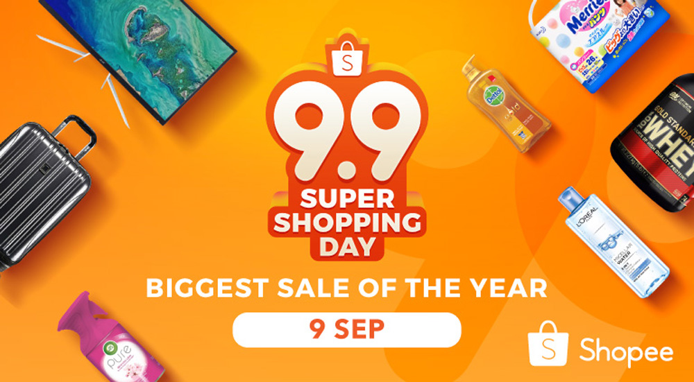 Shopee 9.9 Super Shopping Day — up to RM80 000 worth of prizes to be given away! 30