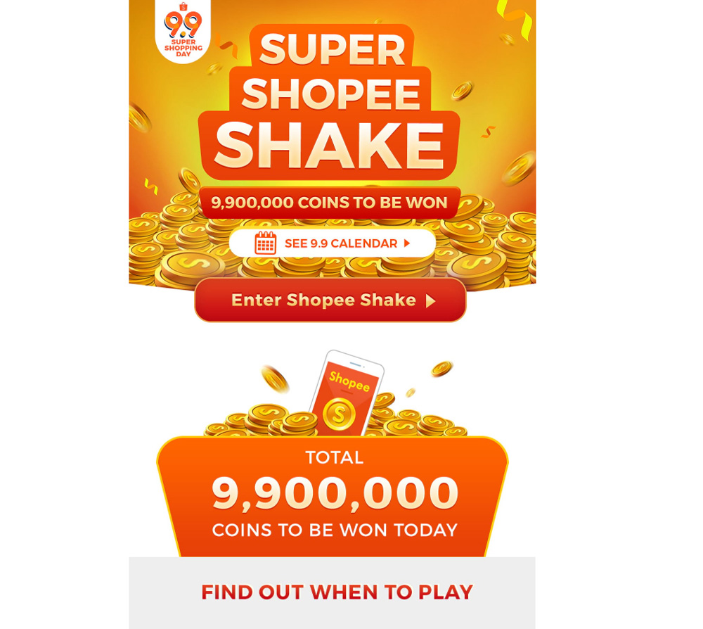 Shopee 9.9 Super Shopping Day — up to RM80 000 worth of prizes to be given away! 28