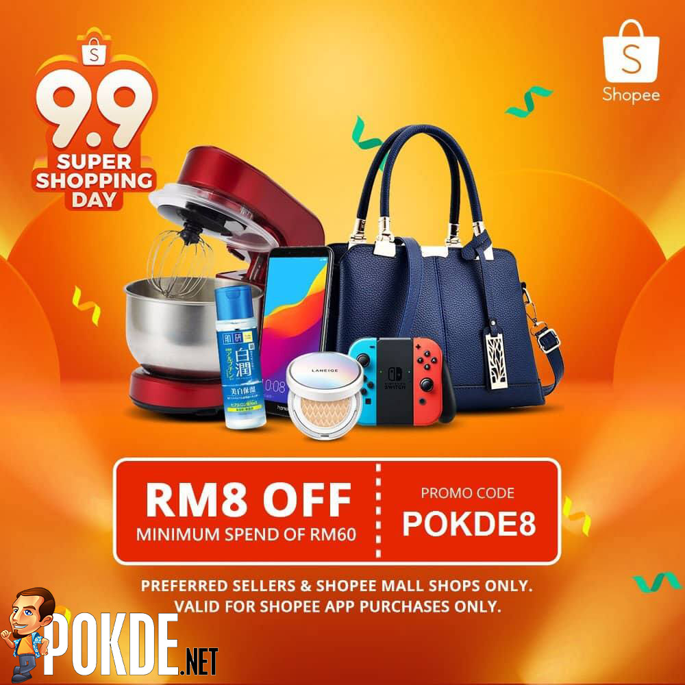 Shopee 9.9 Super Shopping Day — up to RM80 000 worth of prizes to be given away! 31