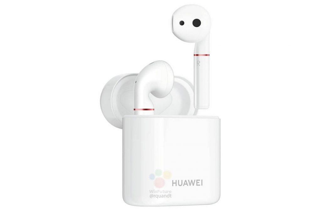 HUAWEI Mate 20 can wirelessly charge other devices. Like the wireless Freebuds 2 Pro that looks eerily similar to the AirPods 25