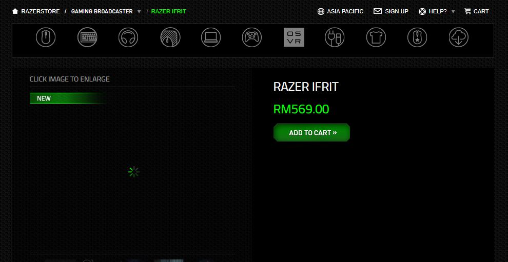 New Razer Ifrit Gaming Headset for Streamers Unveiled