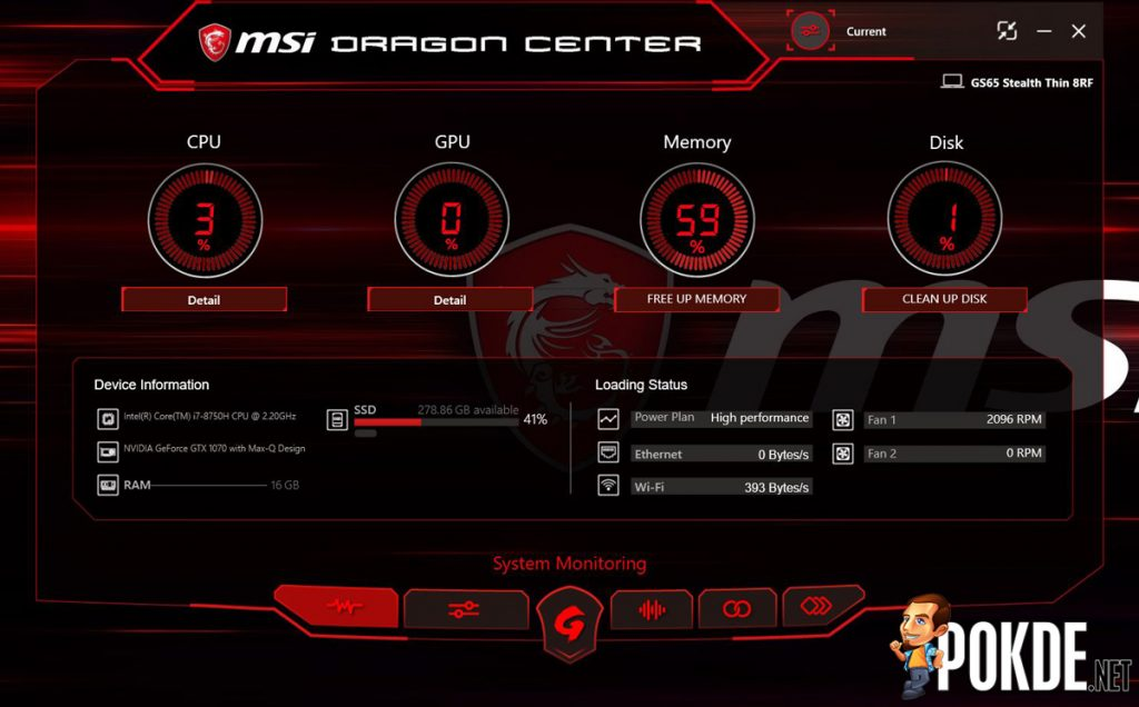 MSI GS65 Stealth Thin 8RF Review - The Golden Dragon with a Demon Soul! 49