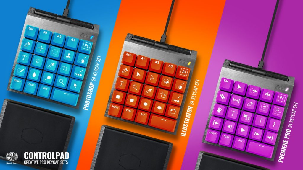 Cooler Master Reveals ControlPad — Designed For Gamers, Content Creators, And More 24