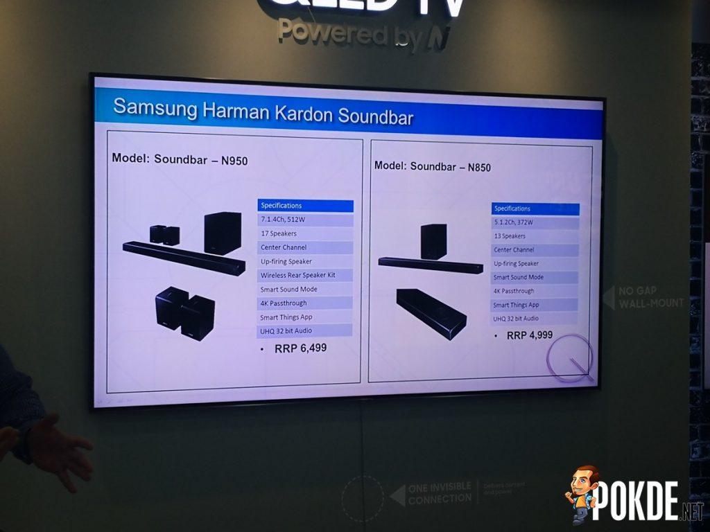 Hands-on: Samsung 2018 QLED TV and Harman Kardon Atmos Soundbar 23