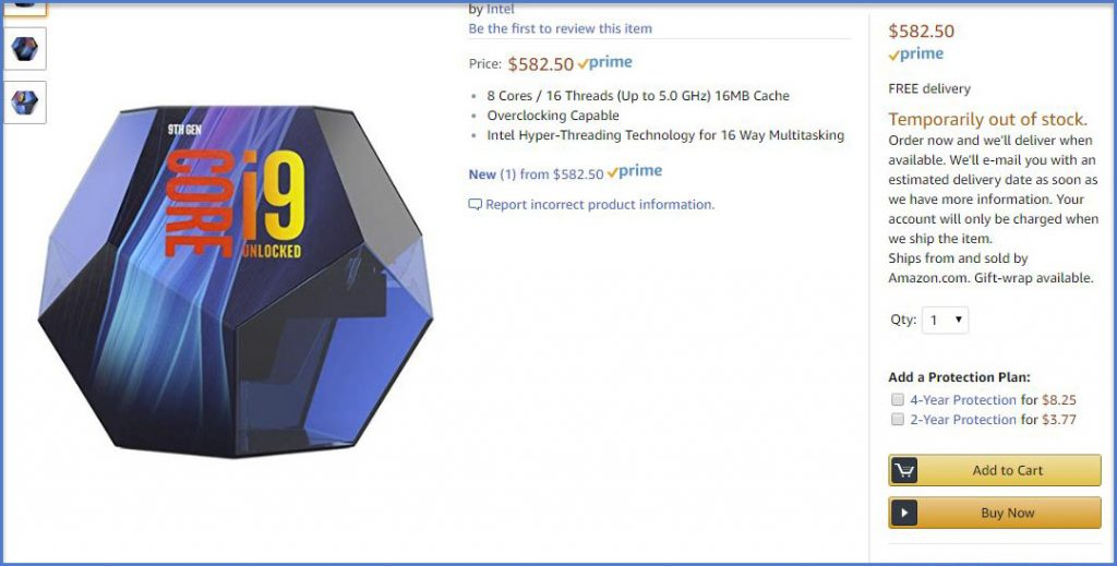 Intel Core i9 9900K to feature new snazzy packaging 21