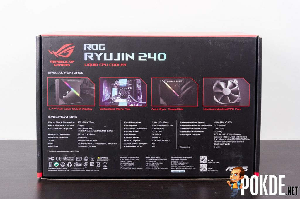ROG Ryujin 240 AIO cooler review — a true all-in-one! 25