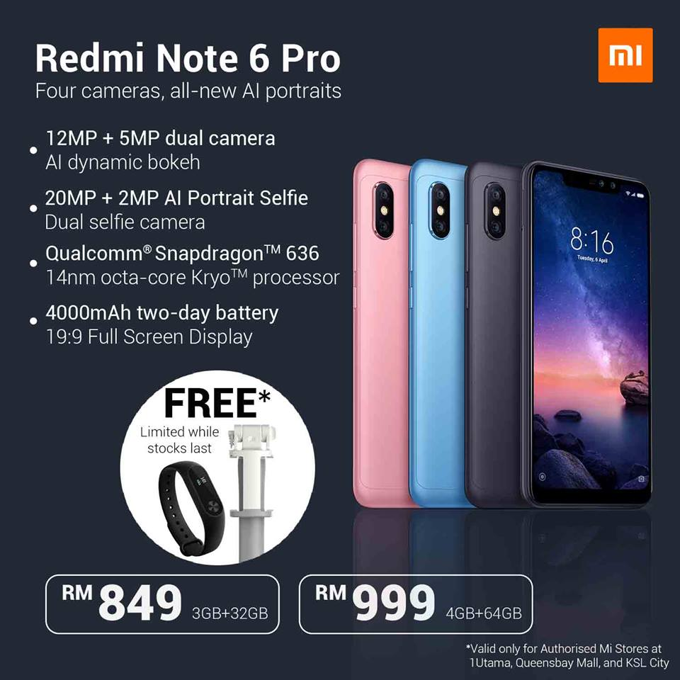 Redmi Note 6 Pro Available In Malaysia This 20th October 2018 24