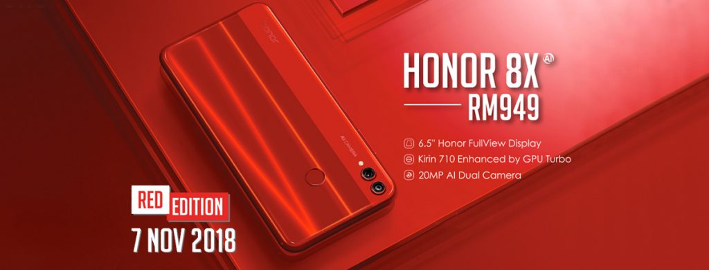 honor 8X Red Edition Coming This 7th November 2018 19