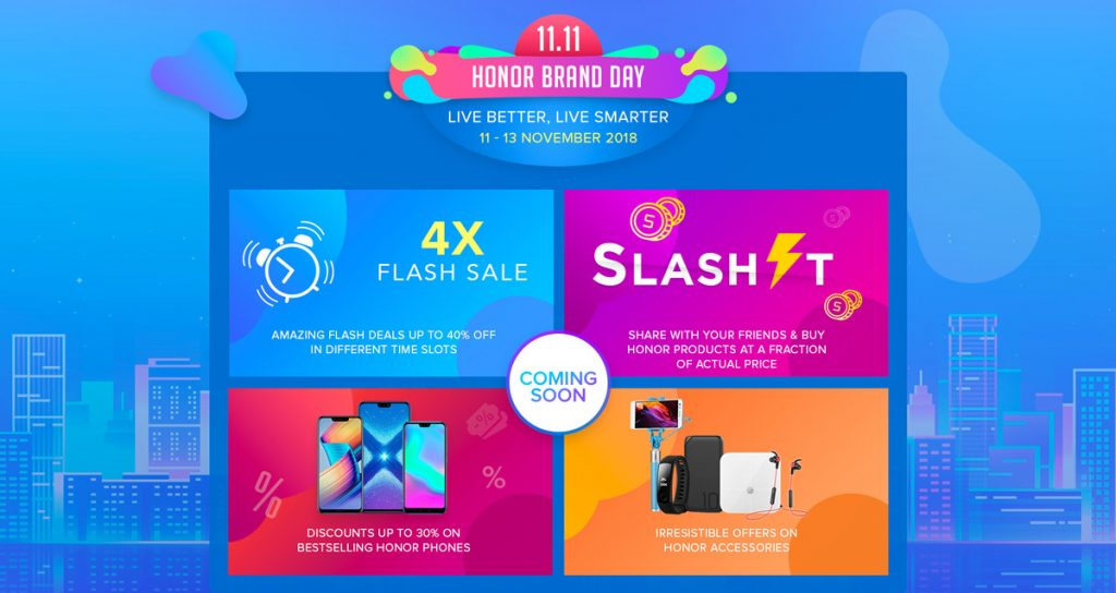 Save Up To RM350 During This 11.11 honor Brand Day 23