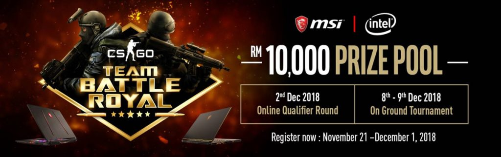 MSI To Host CS:GO Battle Royale Tournament Plus Lucky Draw Activities 23