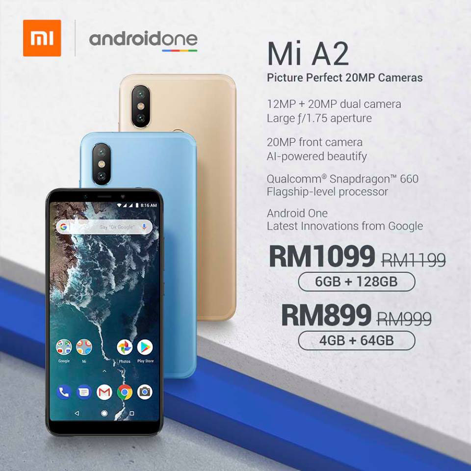 Xiaomi Mi A2 priced even more affordably now — get the Snapdragon 660-powered Android One device at just RM899! 21