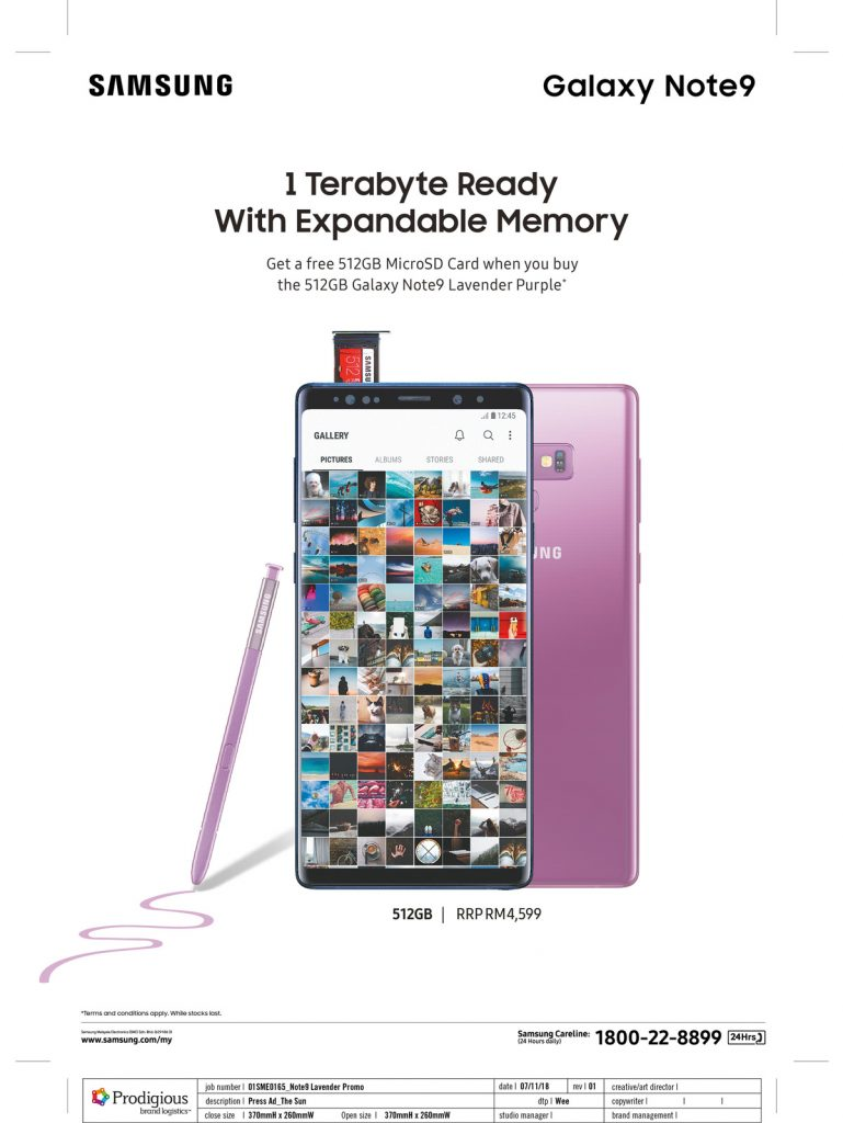 Galaxy Note 9 Lavender Purple Available In Malaysia For A Limited Time 20