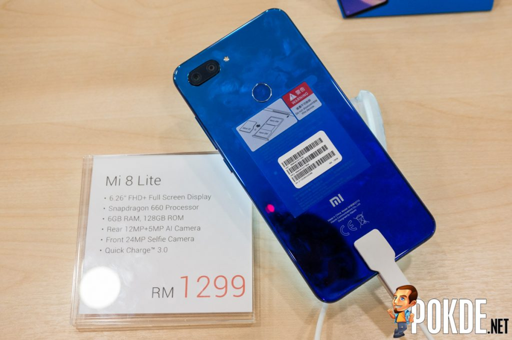 Xiaomi Mi 8 Pro and Mi 8 Lite arrives in Malaysia — new members of the Mi 8 family priced from RM999! 30