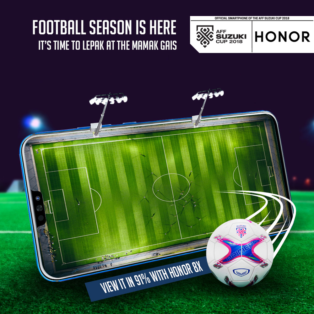 honor Malaysia Is Giving Away Free honor 8X For Every Goal Malaysia Scores At AFF Suzuki Cup 2018 21