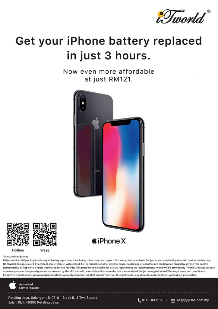 Replace your iPhone battery for just RM121 — here's where you can get it done in just 3 hours! 32