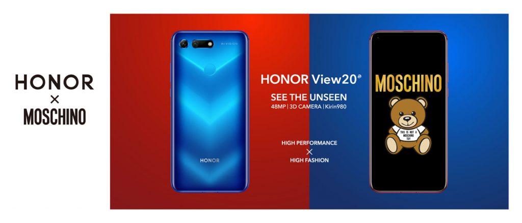 honor view20 moschino