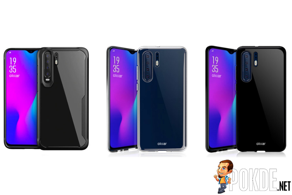 HUAWEI P30 Pro's design revealed by case maker 17