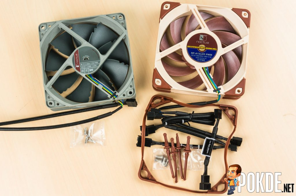 Noctua NF-A12x25 fan review — to be seen and not heard 33