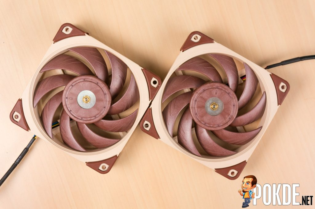 Noctua NF-A12x25 fan review — to be seen and not heard 36