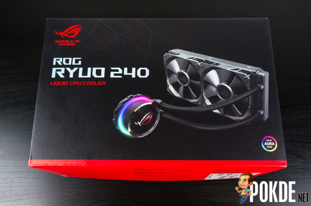 ROG Ryuo 240 AIO cooler review — smaller yet better! 25