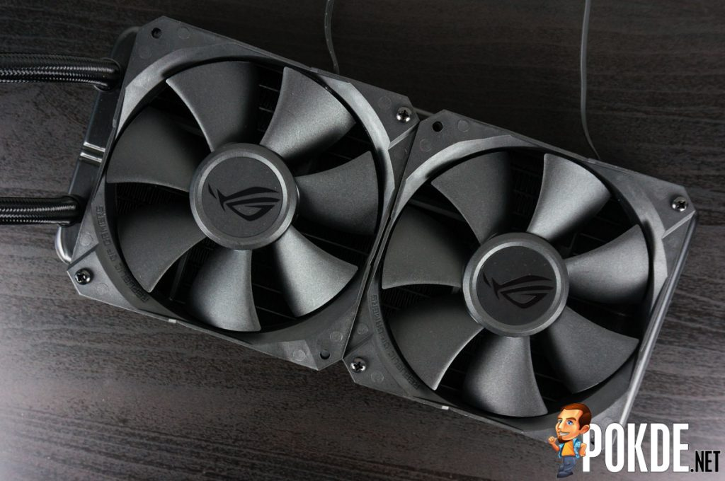 ROG Ryuo 240 AIO cooler review — smaller yet better! 35