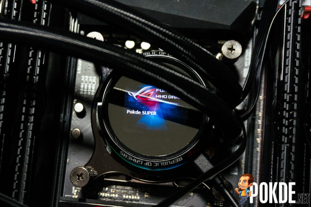 ROG Ryuo 240 AIO cooler review — smaller yet better! 39