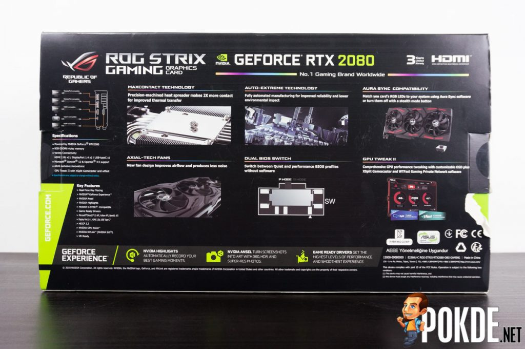 ASUS ROG Strix GeForce RTX 2080 OC Edition 8GB GDDR6 review — the hallowed middle ground for RTX? 28