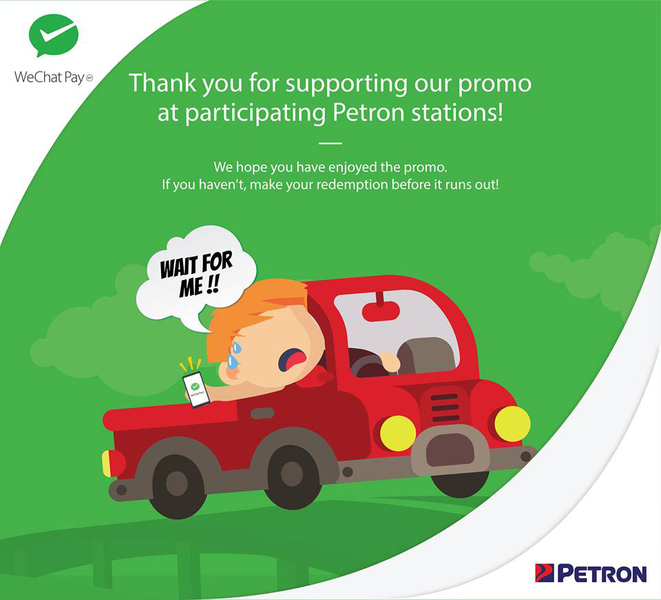 Get Your WeChat Pay RM20 Off Rebate At Petron Stations Before It Runs Out 20