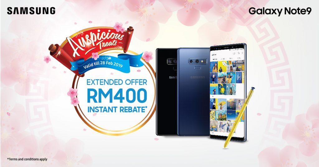 Get Instant RM400 Rebate When You Purchase A Samsung Galaxy Note9 28