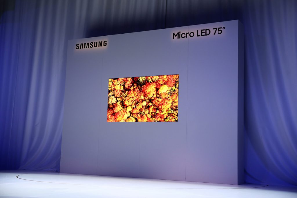 [CES2019] Samsung Introduces New Modular Micro LED Technology 24