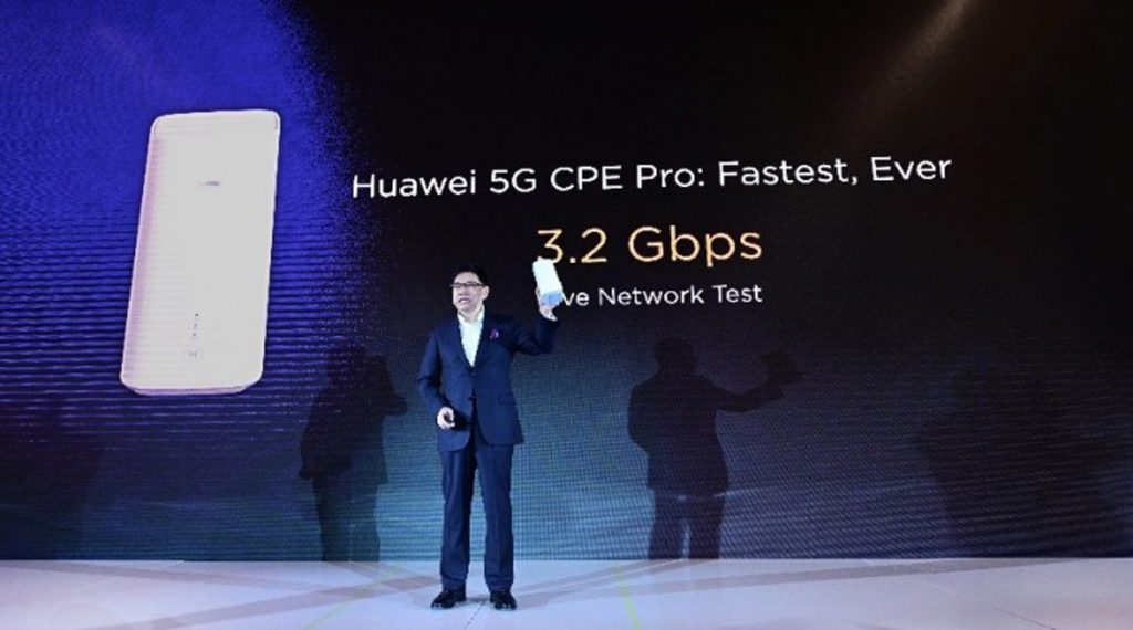 HUAWEI Unveils 5G Multi-mode Chipset And 5G CPE Pro 23