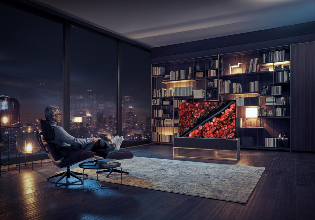 [CES2019] LG Introduces World's First Rollable OLED TV 20