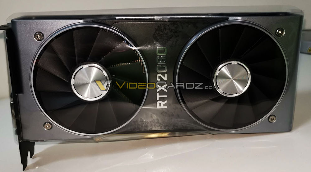 All SIX variants of the GeForce RTX 2060 leaked on Taobao 20