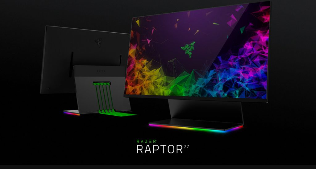 [CES2019] Razer Enters The Monitor Market With The New Razer Raptor 23