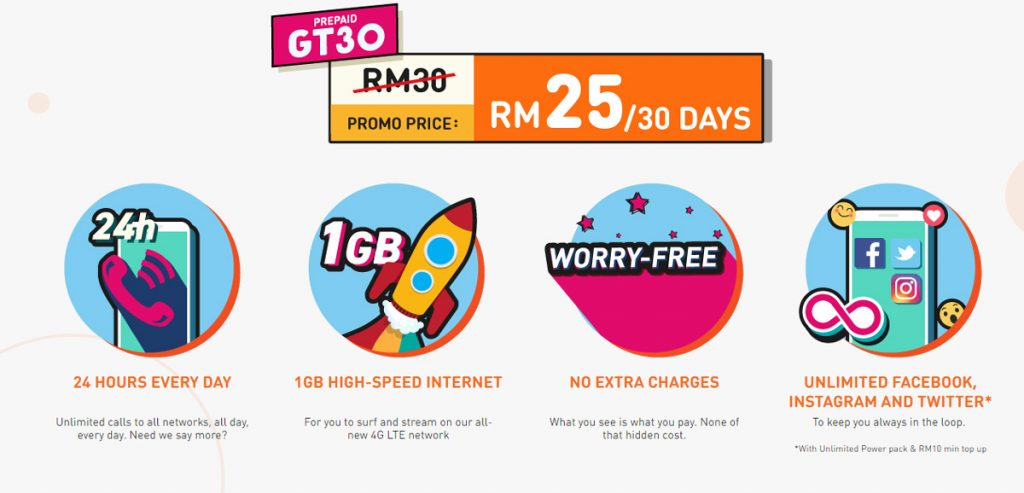 Get Unlimited Phone Calls For RM25/month To All Networks With U Mobile Giler Talk GT30 23