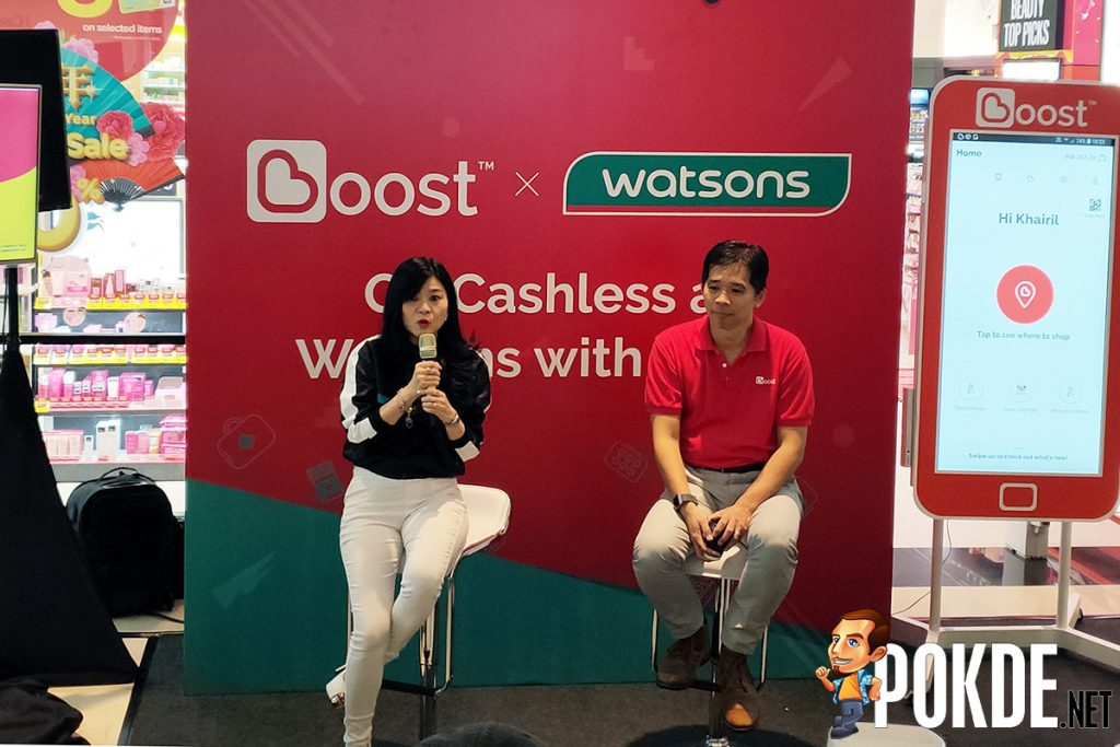 Boost makes shopping at Watsons easier and more rewarding with 8x points and cashback! 22