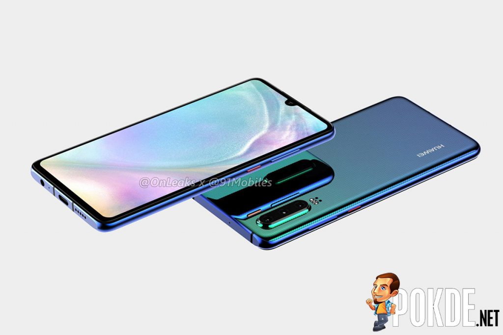 HUAWEI P30 series to feature OLED panels and tiny waterdrop notches 21