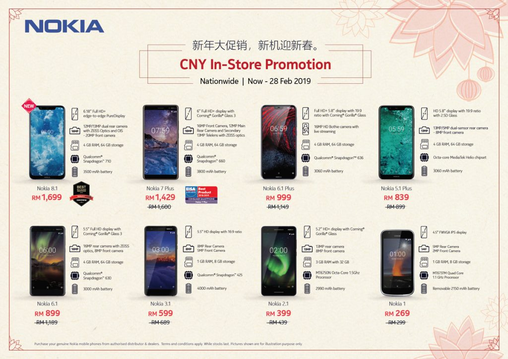 Nokia Celebrates CNY By Offering Cheaper Smartphone Prices 22