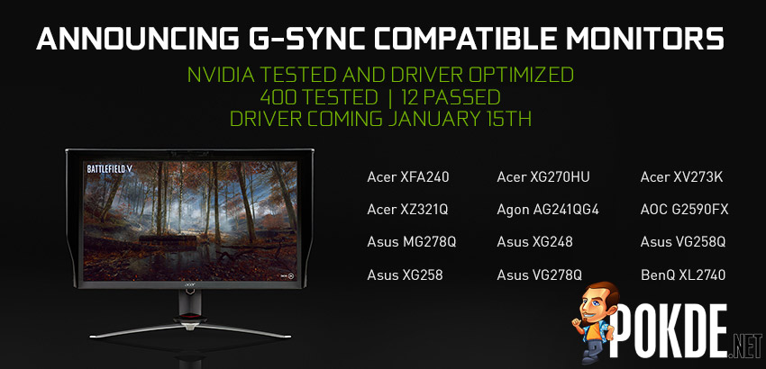 [CES2019] NVIDIA adds support for adaptive refresh rates on FreeSync monitors! 18