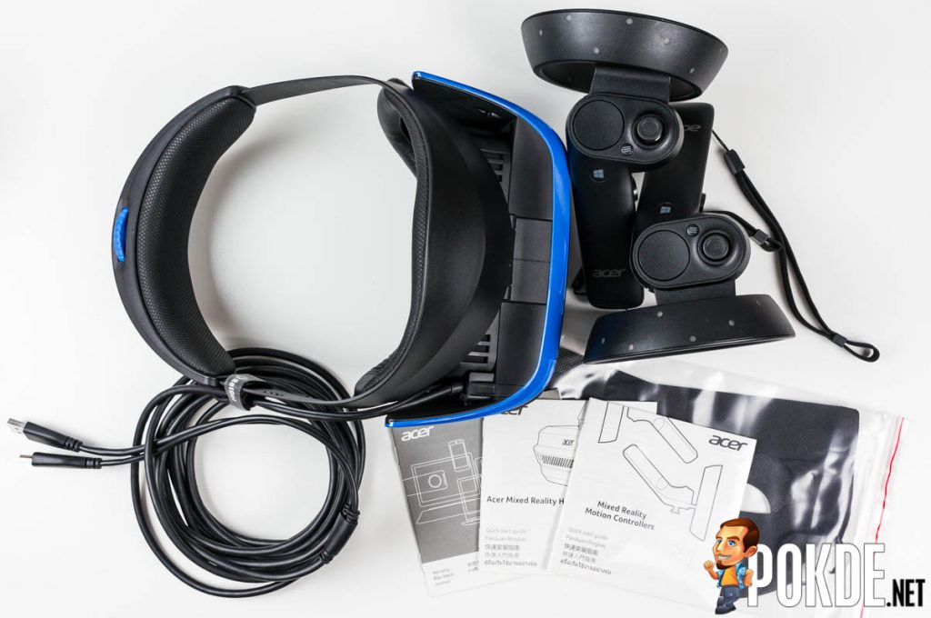 Acer Windows Mixed Reality (WMR) Headset and motion controllers review — a bright blue portal into the virtual world 25