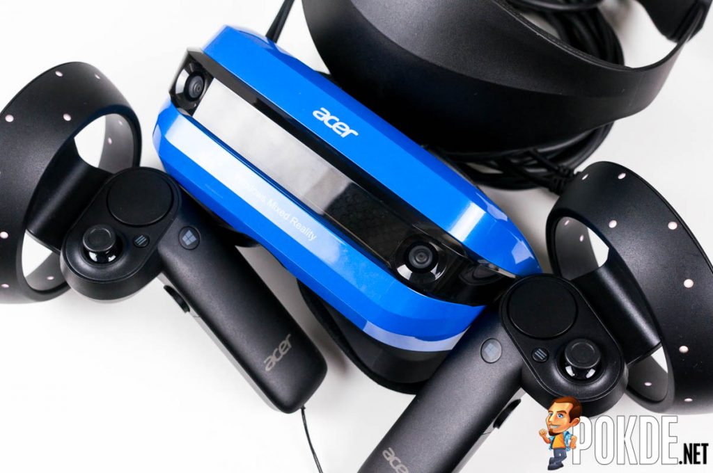 Acer Windows Mixed Reality (WMR) Headset and motion controllers review — a bright blue portal into the virtual world 34