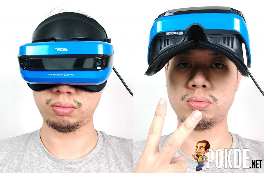 Acer Windows Mixed Reality (WMR) Headset and motion controllers review — a bright blue portal into the virtual world 29