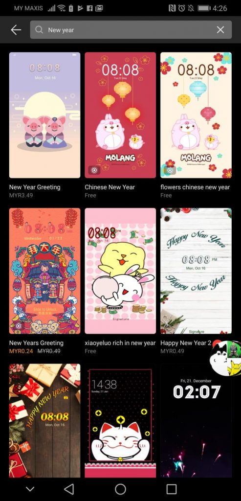 Get Your HUAWEI Chinese New Year Themes Now Before They Dissapear 25