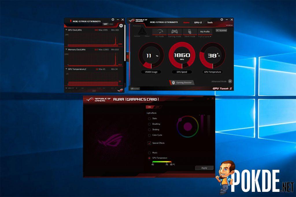 ASUS ROG Strix GeForce GTX 1660 Ti OC Edition 6GB GDRR6 review — a mid-range card with high-end trim 36