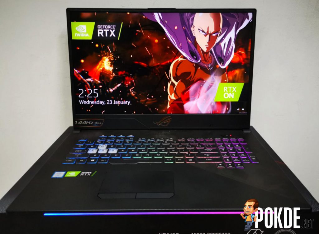 ASUS ROG STRIX SCAR II GL704 RTX 2070 Laptop Review