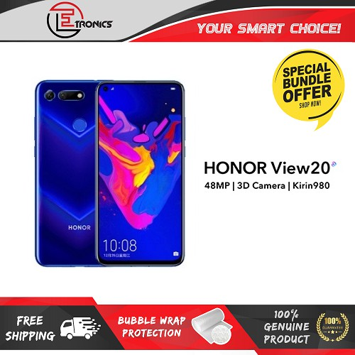 You can get the HONOR View20 for just RM1699 on Shopee 26
