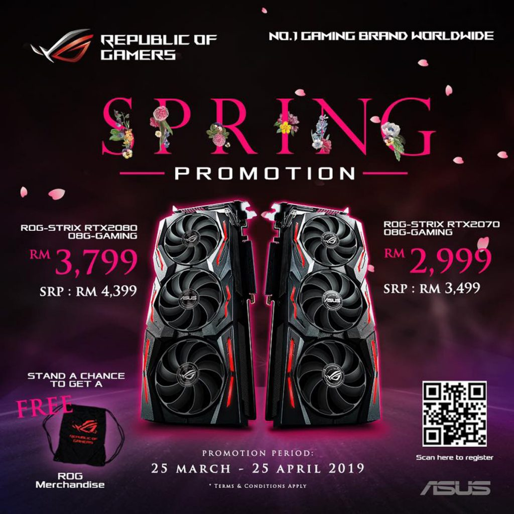 Save Up To RM600 On ROG RTX Graphics Card With Their Spring Promotion 30